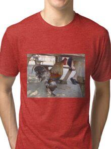 Big Red Roster 3 Tri-blend T-Shirt