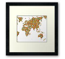 Mucha world Framed Print