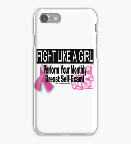 Fight Like A Girl - Version 2 iPhone Case/Skin