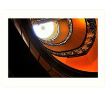Stair cases Art Print