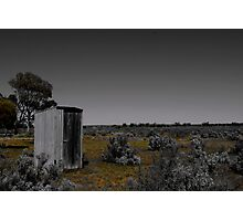 Outhouse out yonder Photographic Print