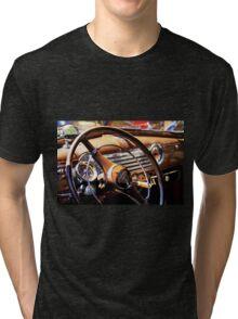 1941 Chevy steering wheel Tri-blend T-Shirt