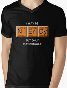 Nerdy (Periodically Speaking) Mens V-Neck T-Shirt