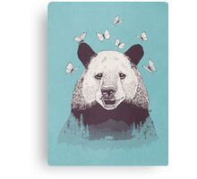 Let's Bear Friends Canvas Print