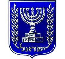 Seal of the State of Israel Photographic Print