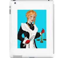 Justice Tarot Card iPad Case/Skin