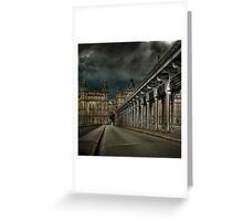 Pont Bir Hakeim, Paris Greeting Card