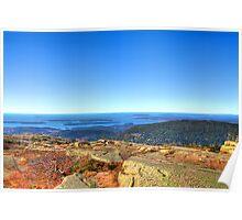 Coastal Maine Poster