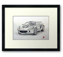 Lotus Exige Framed Print