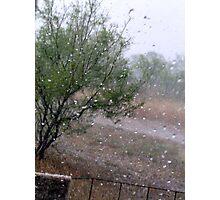 hail Photographic Print