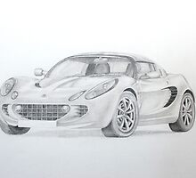 Lotus Elise by Jack Froelich