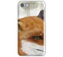 The Red Fox iPhone Case/Skin