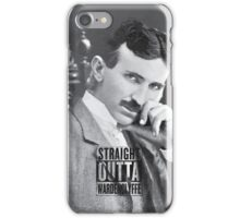 Straight Outta Wardenclyffe (Tesla) iPhone Case/Skin