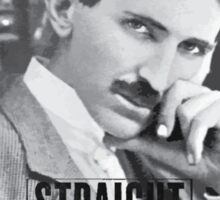 Straight Outta Wardenclyffe (Tesla) Sticker