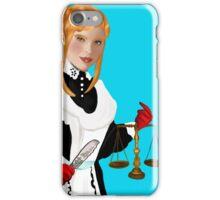 Justice Tarot Card iPhone Case/Skin