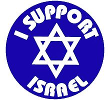 I Support Israel Photographic Print