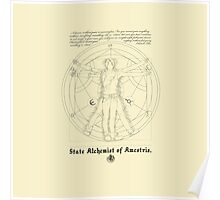 Vitruvian Alchemist Poster
