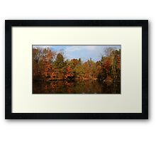 Reflection on Powell Crosley Framed Print