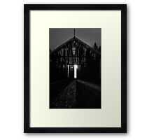 Aliens In The Barn Framed Print
