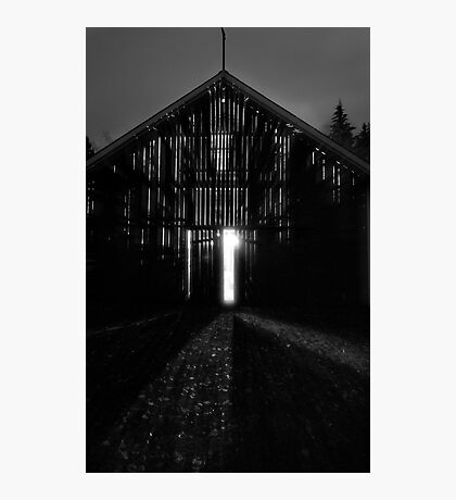 Aliens In The Barn Photographic Print