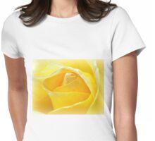 Lemon Petals Womens Fitted T-Shirt