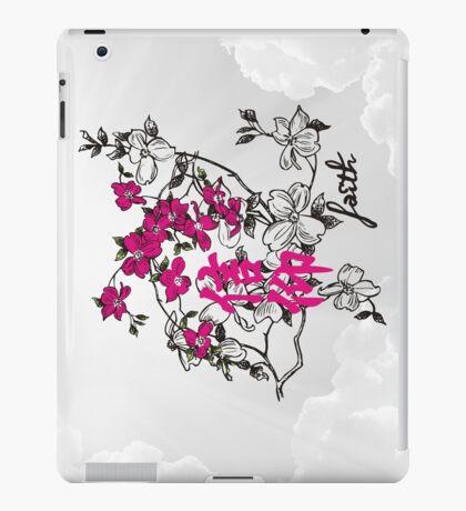 Faith. Kanji. iPad Case/Skin