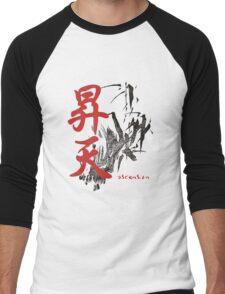 Ascension. Kanji. Men's Baseball ¾ T-Shirt