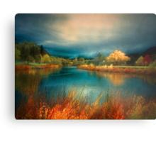 An Autumn Storm Metal Print