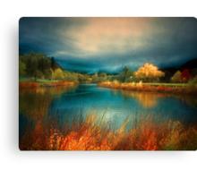 An Autumn Storm Canvas Print