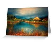 An Autumn Storm Greeting Card