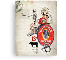 CHEERIO 13 Canvas Print