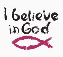 I believe in God Kids Tee