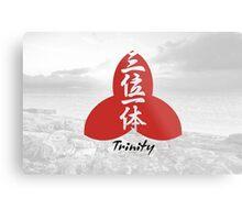 Trinity. Kanji. Metal Print