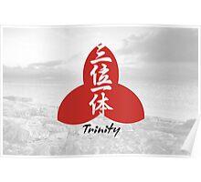 Trinity. Kanji. Poster