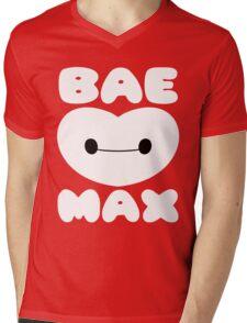 Baemax (EN) Mens V-Neck T-Shirt