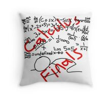 Calculus Finals Throw Pillow