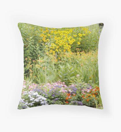 wildflowers at Como Throw Pillow
