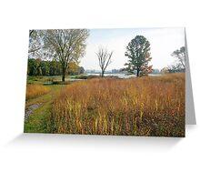 French Creek, Portage Wis Greeting Card