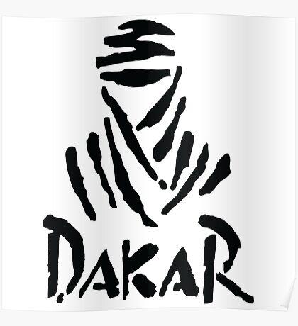 Dakar black Poster