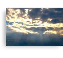 Light Rays Canvas Print