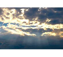 Light Rays Photographic Print