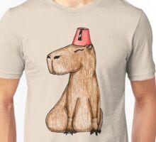 Carpincho con Fez Unisex T-Shirt
