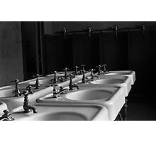 Industrial Sinks Photographic Print