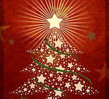 Christmas Greeting Card 1 by Tanja Udelhofen