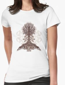 Tree of eternal life Womens Fitted T-Shirt