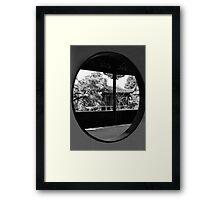 Garden of the Master of Nets Framed Print