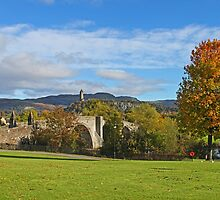 Stirling Bridge and wallace by Alan Findlater