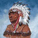 Indian Chief  by WildestArt
