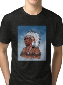 Indian Chief  Tri-blend T-Shirt