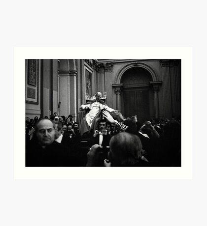 Il Papa, Pope Paul VI Art Print